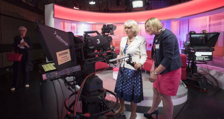 Her Royal Highness, The Duchess of Cornwall officially opened the new BBC South West Headquarters in Plymouth