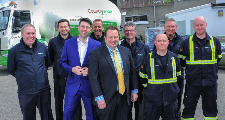 Wadebridge-based Countrywide LPG has added significant customer numbers to its liquefied petroleum gas (LPG) business
