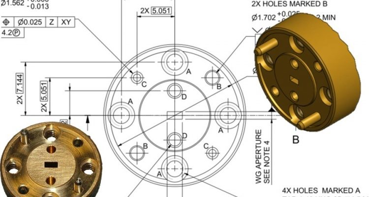 Interface drawings in the new IEEE standard which were produced by Flann mechanical engineers