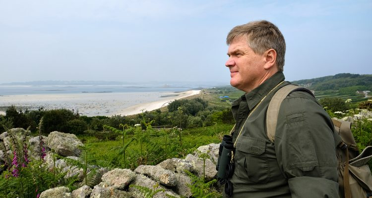 TV wildlife expert Ray Mears, Isles of Scilly patron.