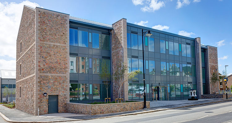 Oceansgate Endeavour House. Shortlisted for regional awards.