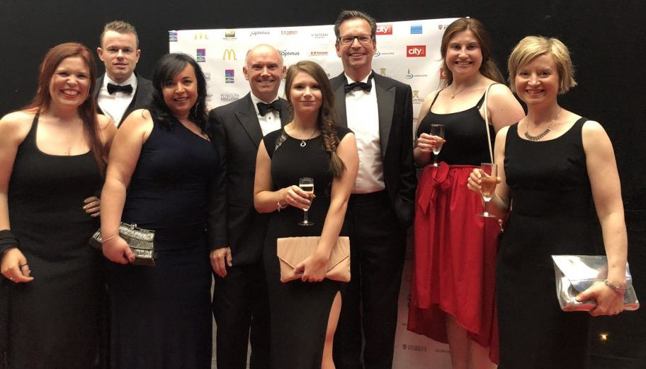 DCA at the Plymouth Business Awards 2019